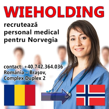 Recrutare personal medical Norvegia prin Wieholding